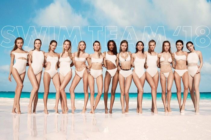 Solid & Striped 最大費周章的企劃「Swim Team」,集合 13 位名模設計泳裝!