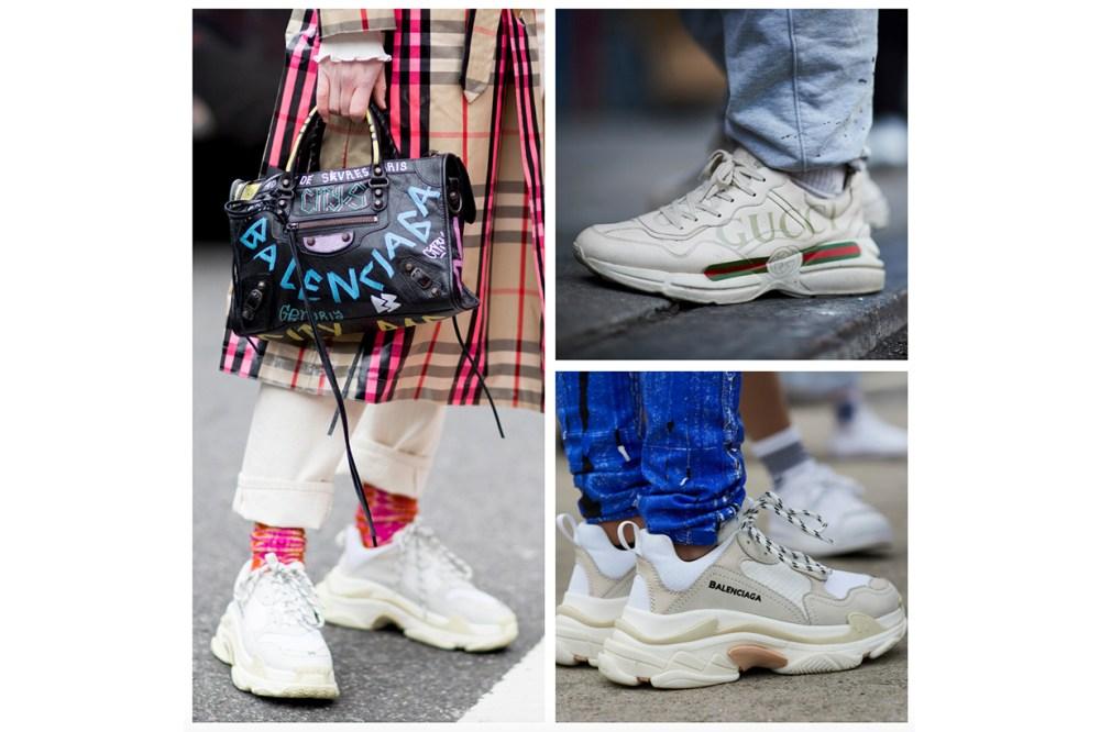 紐約時裝周街拍發現 2018 春季 3 大潮流 格仔套裝 粉色 dad sneakers