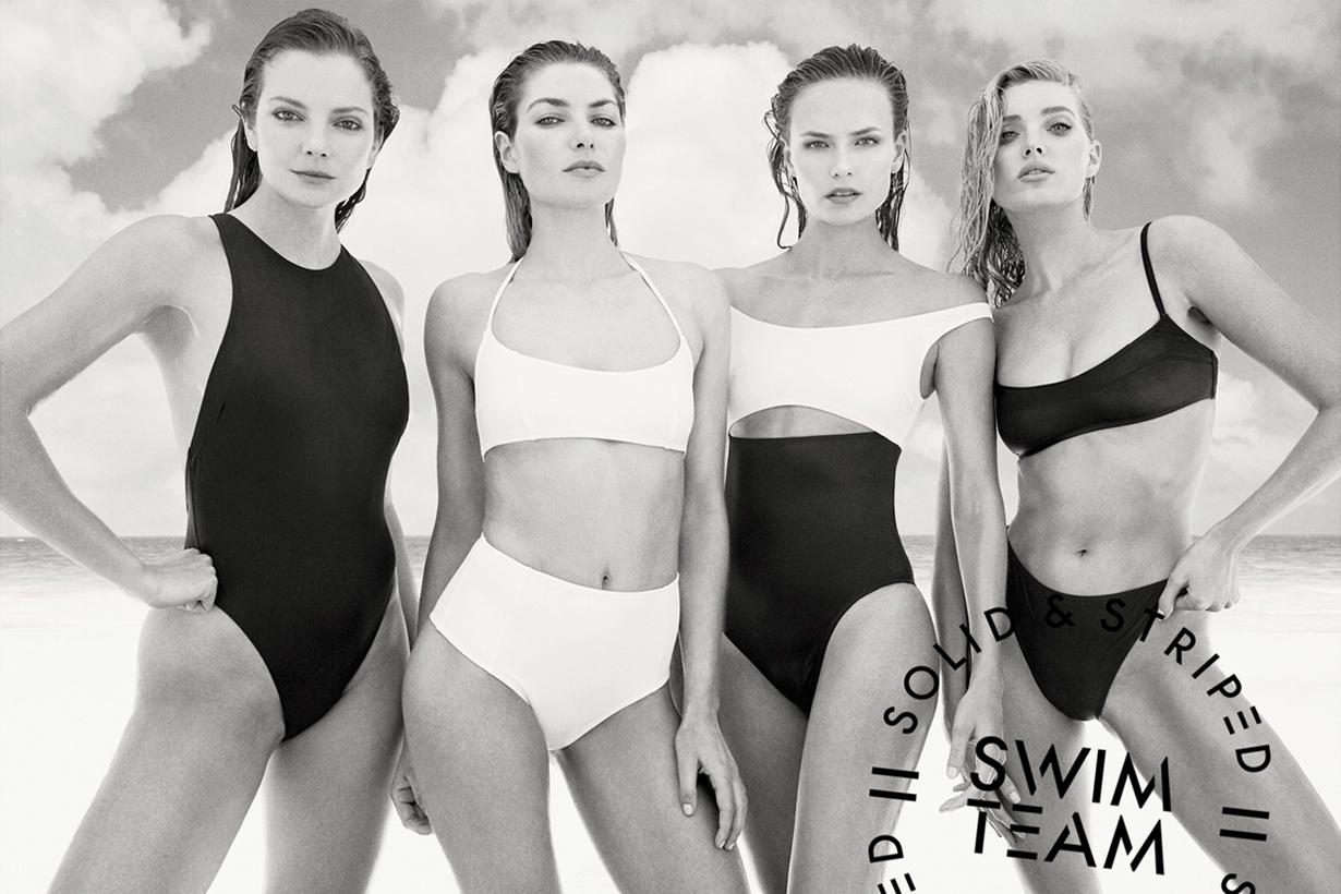 Solid & Striped 最大費周章的企劃 集合 13 位名模設計聯乘泳裝