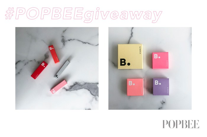 #POPBEEgiveaway: 搶先試用!送你韓國 B. by BANILA 美妝用品系列