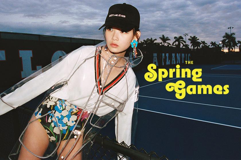 Zara  TRF 就釋出了名為The Spring Games的 2018 春季的宣傳照