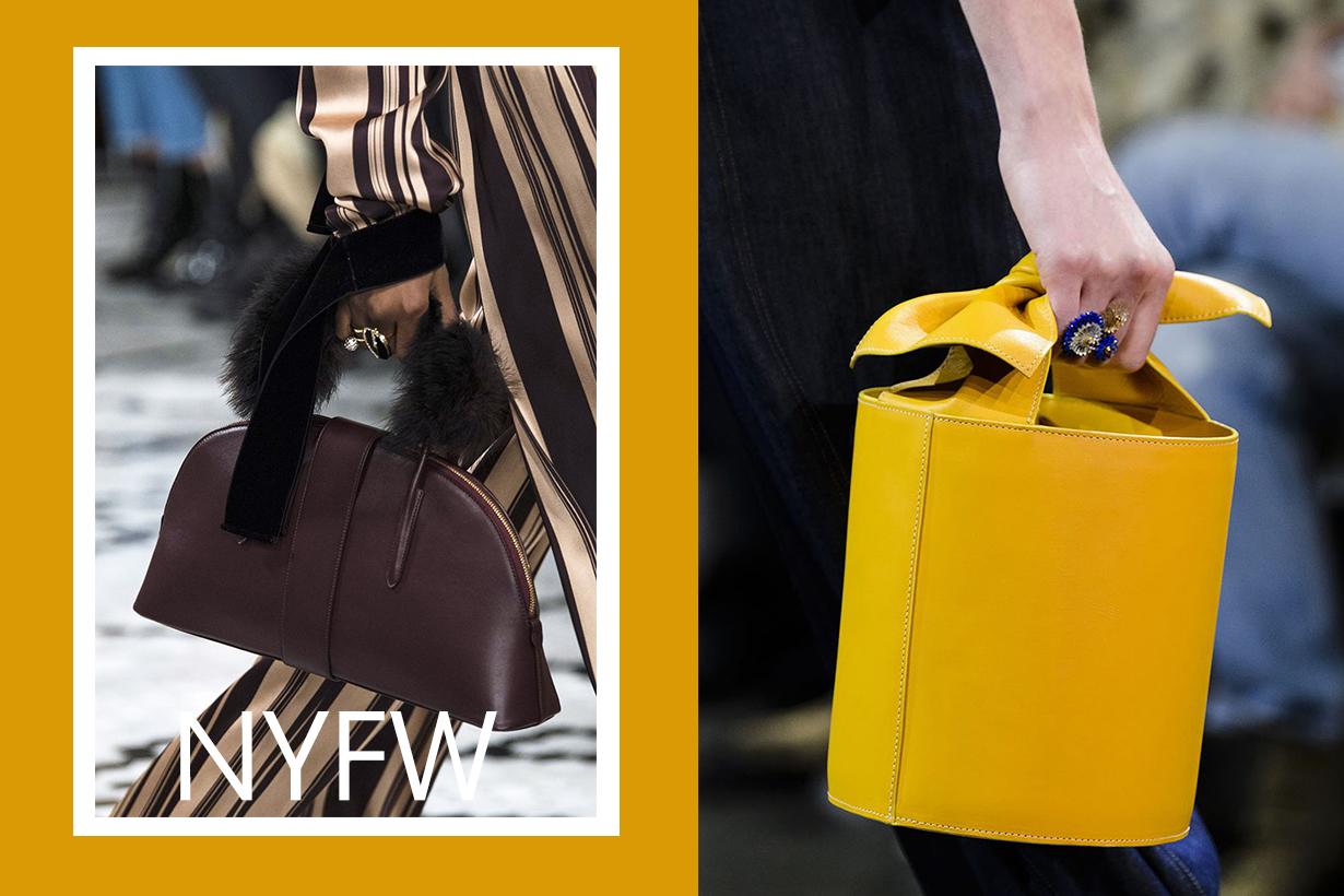 在 2018 FW #NYFW 上 這些手袋都吸引了時尚編輯的目光
