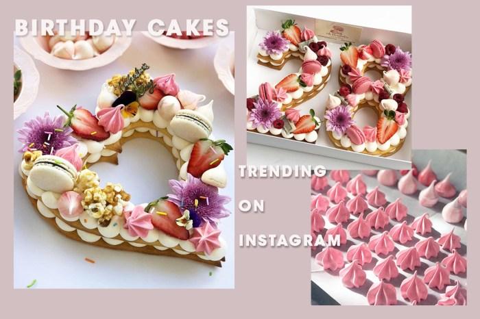 生日蛋糕就是要這種!快看看最近在 Instagram 大熱的烘焙師作品!