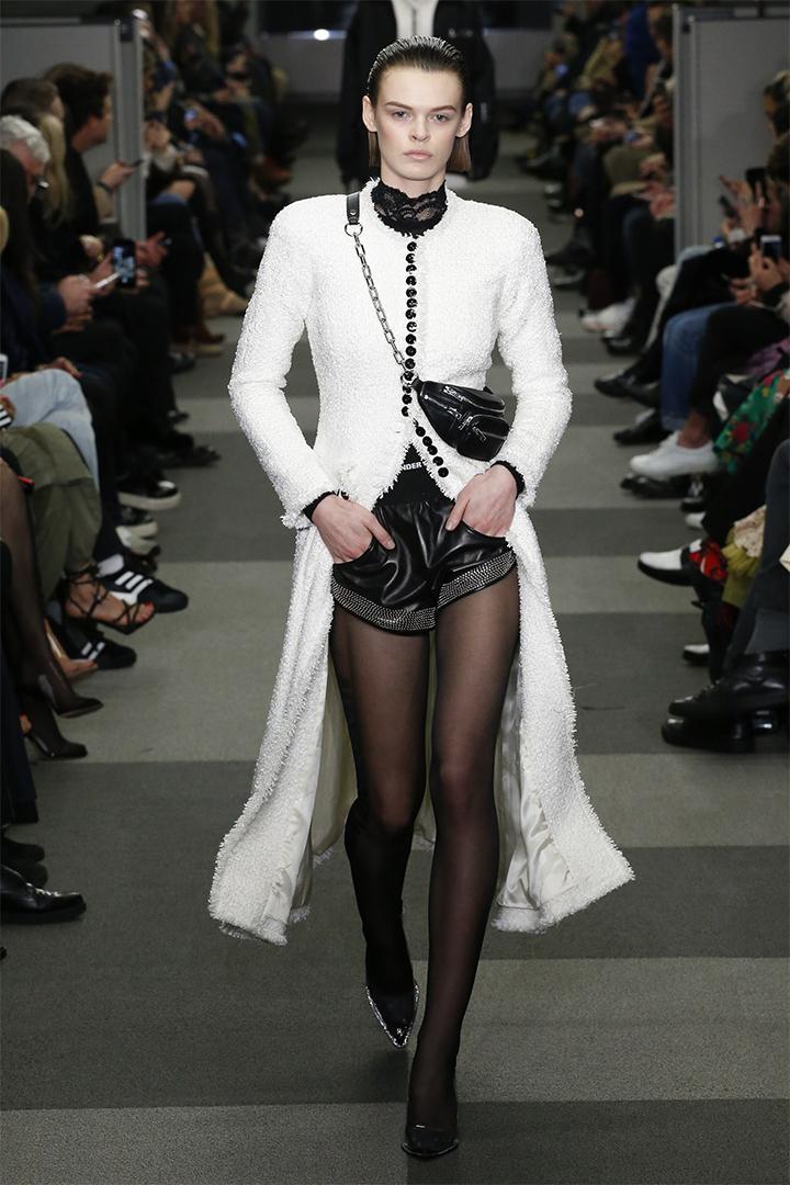 Alexander Wang 2018秋冬  紐約時裝周最後一場時裝騷