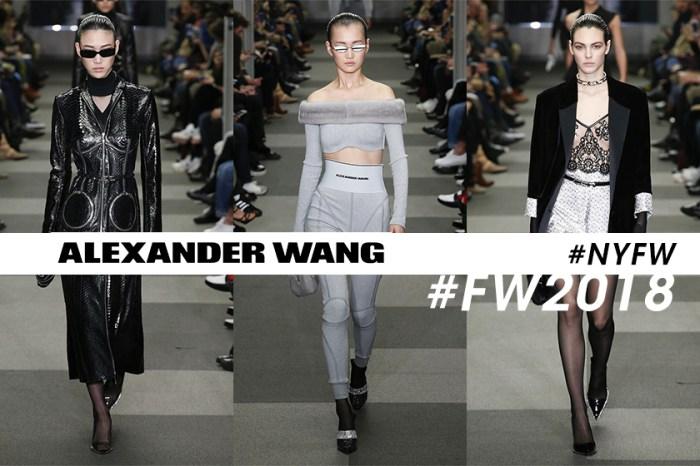 Alexander Wang #NYFW 最後一場時裝騷,用冷酷型格感告別紐約!