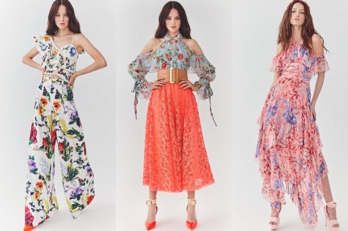 想以花團錦簇迎接春季?alice + olivia 最新浪漫唯美的春季服飾登場!