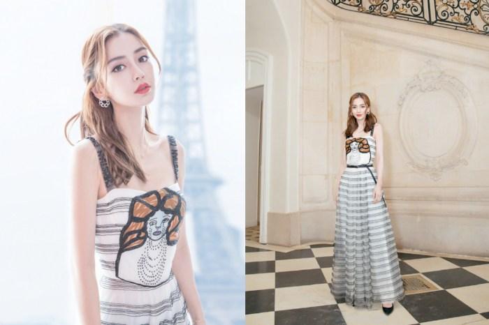 捕捉巴黎時裝週的 Angelababy,這可是女生們都夢想著的仙氣公主 Look!