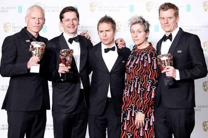 「英國奧斯卡」BAFTAs 完整得獎名單出爐-《廣告牌殺人事件》成最終大贏家!