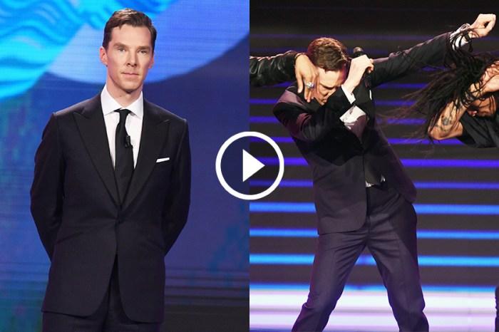 令人意外的「反差萌」!Benedict Cumberbatch 穿筆挺西裝演舞技