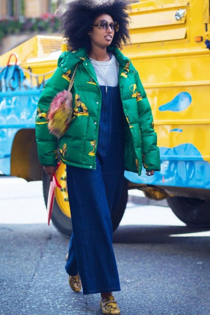 絕不是小孩子的專利  工人褲其實也有優雅又時尚的一面
