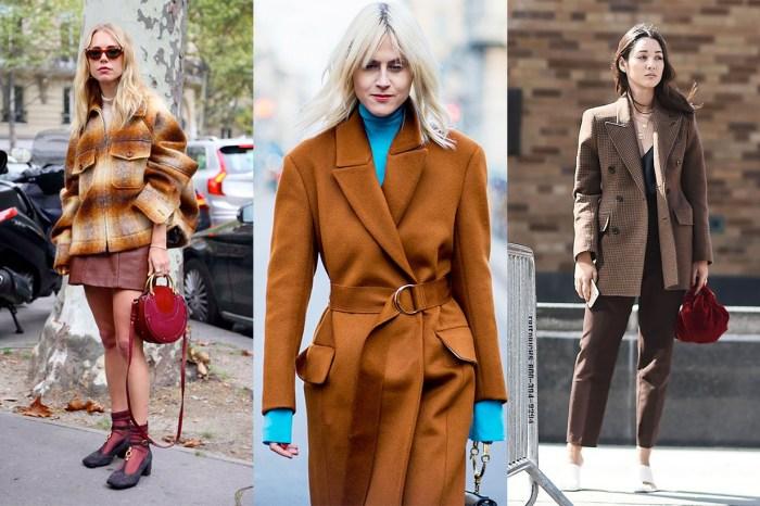 看完達人示範 7 種穿搭配色組合,你會發現「棕色」才是衣櫃必備!