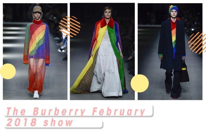 #LFW : Christopher Bailey 最後一場 Burberry 時裝騷,以 LGBTQ 彩虹畫上句號
