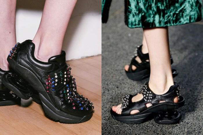 Ugly Shoes 沒有最醜,只有更醜?Christopher Kane 2018 秋冬系列推出另類性感健康鞋
