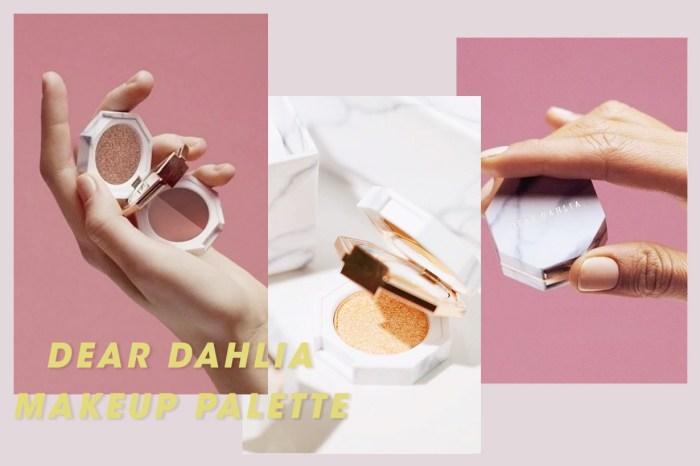 喜歡帶 Mini Bag 的你注意,這款雲石 Makeup Palette 簡直就是為你而設!