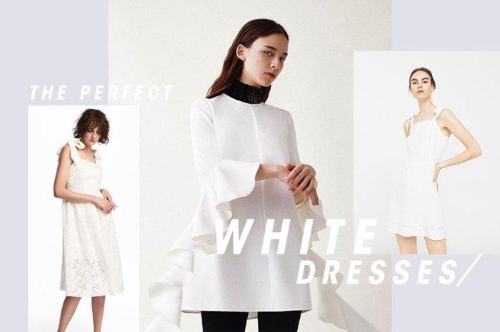 氣質是這樣穿出來的!這 20 條超美的小白裙,就是你期待春天的理由!
