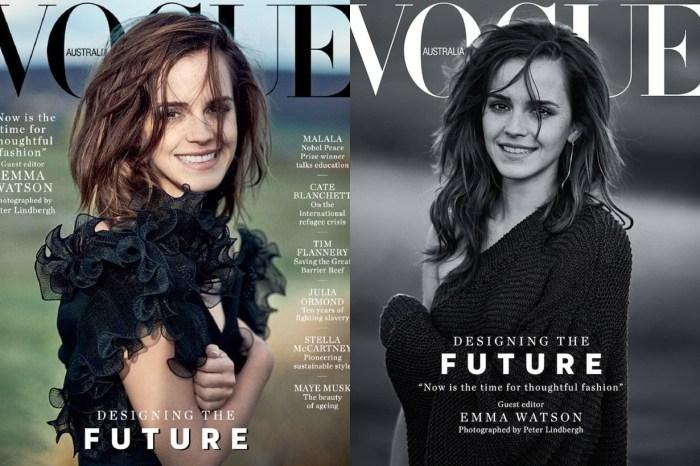Emma Watson 淡妝上陣擔任客座編輯:「這是我最引以為傲的一期《Vogue》」