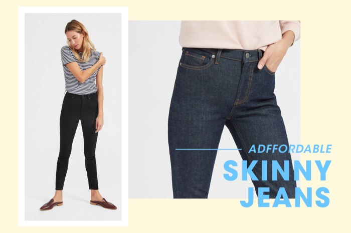 小資女也能負擔:荷里活女星大愛的這款 Skinny Jeans,原來只需港幣 500 多元!
