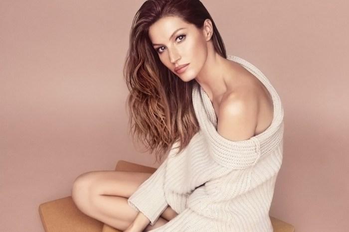 在這個人人都修圖的年代,Gisele Bündchen 竟然夠膽以素顏登上《Vogue》封面!