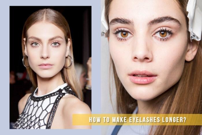 這 3 個天然方法,可以讓你的睫毛在不自不覺中長得像洋娃娃一樣!