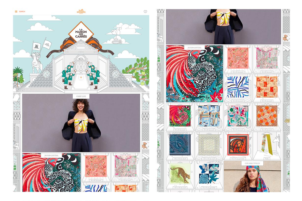 Image of 絕對是最美的時尚品牌官網!Hermès 的網站可以讓你逛上一小時