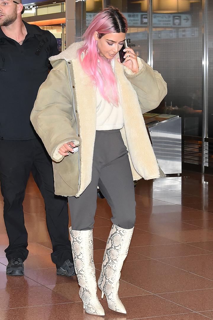 kim-kardashian-dye-pink-hair