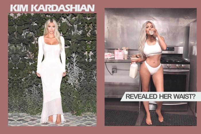 Kim Kardashian 公佈了腰圍數字,就連親姐姐 Kourtney 也感到驚訝!