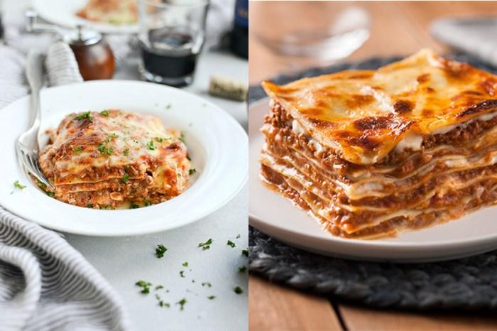 #週末廚房:芝士控大愛的美食-好吃又容易製作的肉醬千層麵 Lasagna
