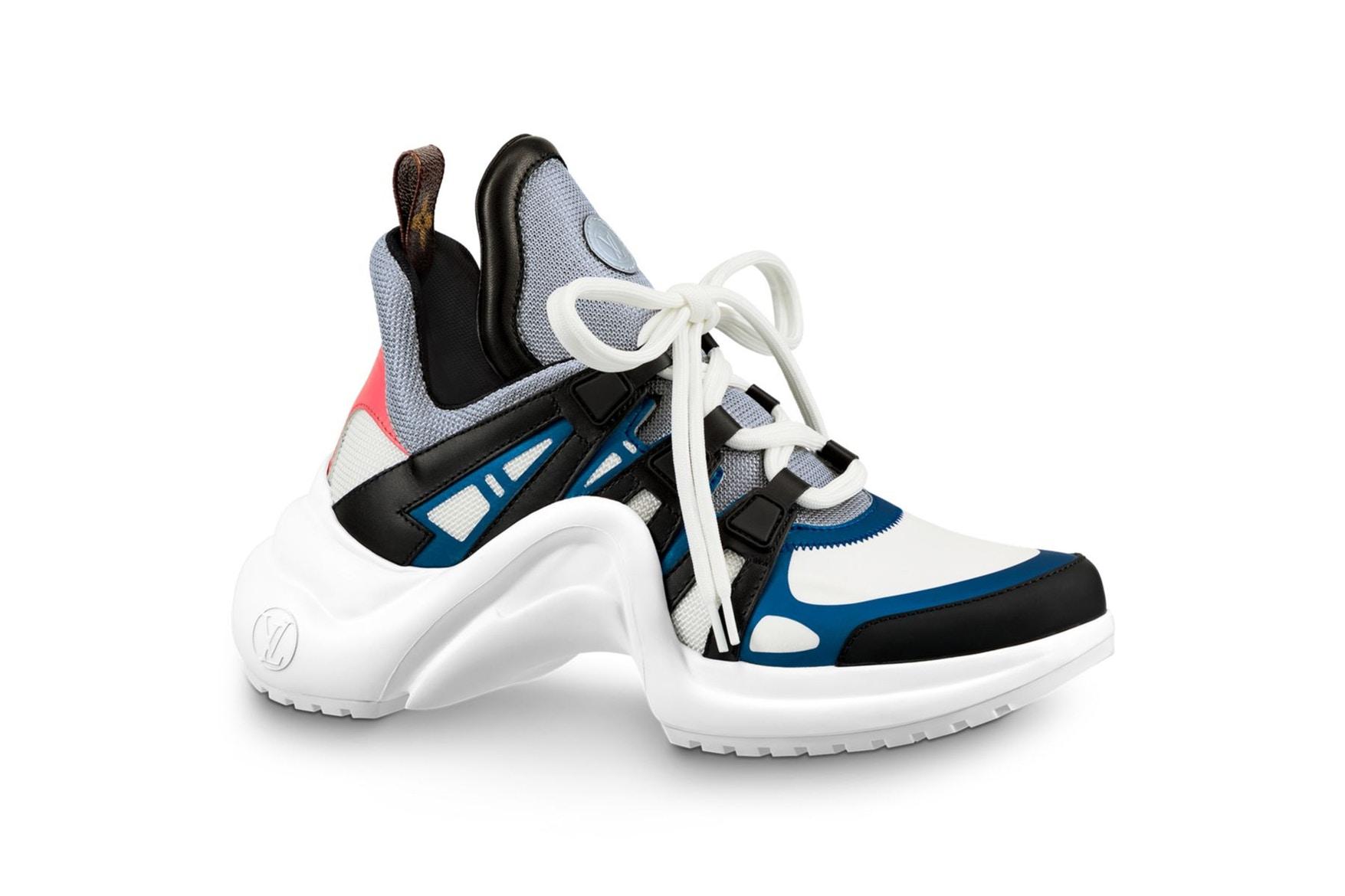 跟上醜鞋風潮 Louis Vuitton 也出 Dad Shoes  7 色齊發正式開賣