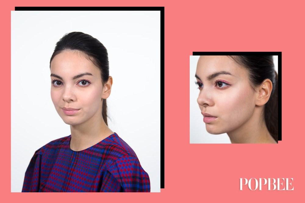 這個只用唇膏便可完成的妝容  以後要補妝就變得容易了