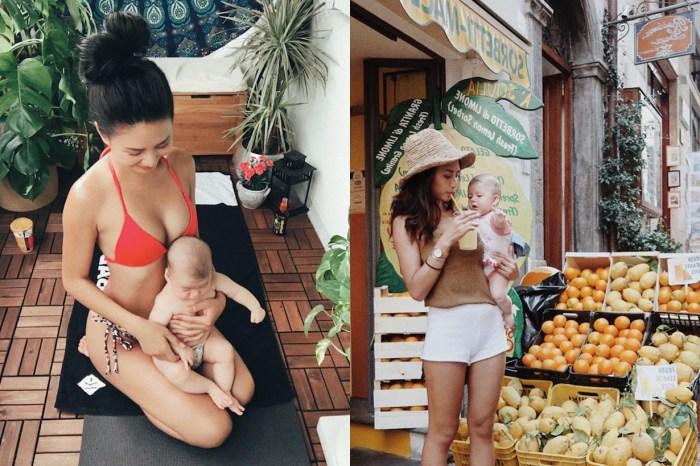 這就是超級媽咪!看模特兒辣媽 Naomi 令人佩服的日常生活