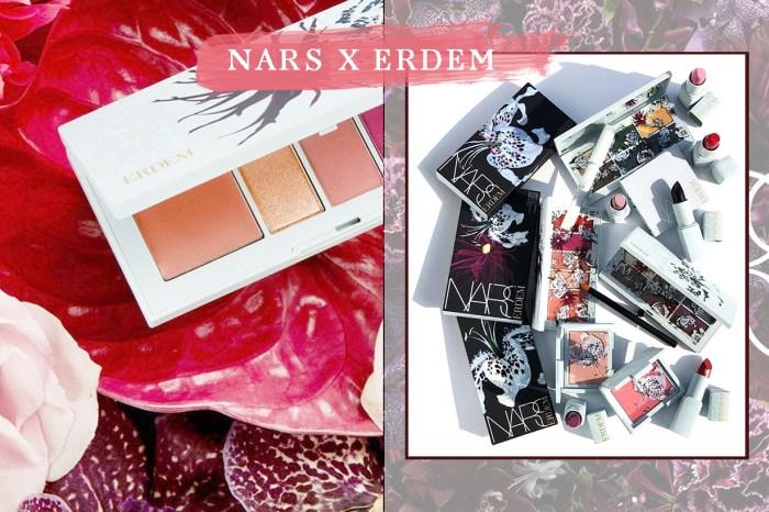 Nars 將與 Erdem 推出聯乘系列,大概是你看過最時尚的春妝設計!