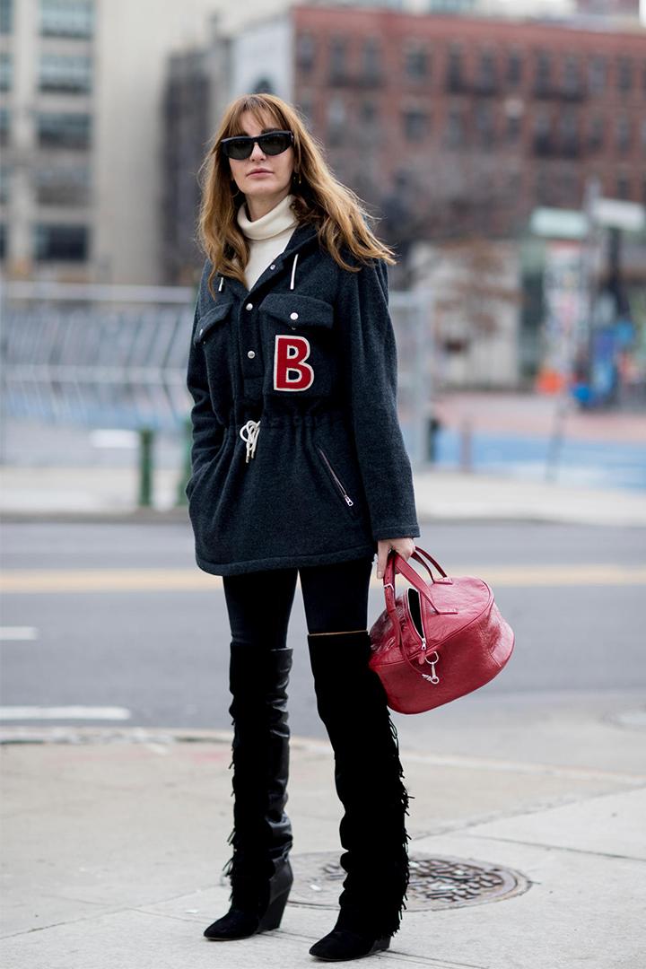 紐約時裝周 2018 秋冬手袋街拍造型靈感