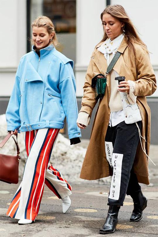 2018 秋冬挪威奧斯陸時裝周北歐潮人街拍