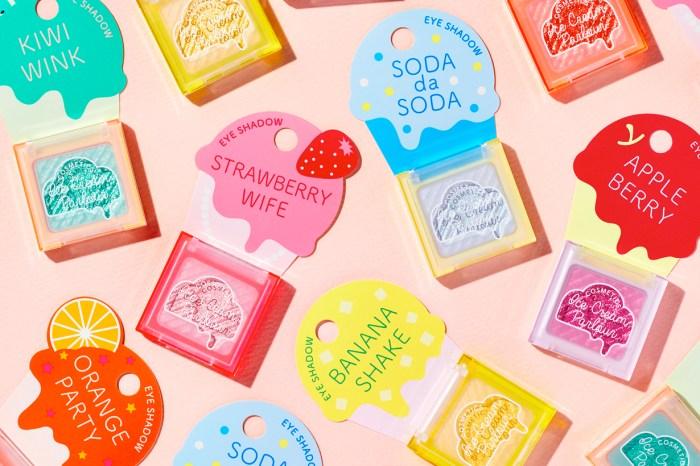 Shiseido 用冰淇淋打造的最新限時品牌,推出日本第一張超方便「轉印唇卡」!