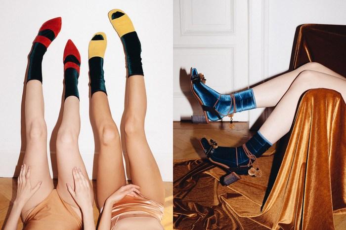 襪子控不能錯過的「珠寶級」品牌:以後穿高跟鞋也不愁沒有美麗襪子搭配!