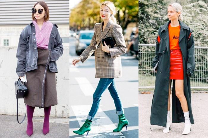 如何將秋冬大熱 Sock Boots 穿到春季?這 3 招一定要學!