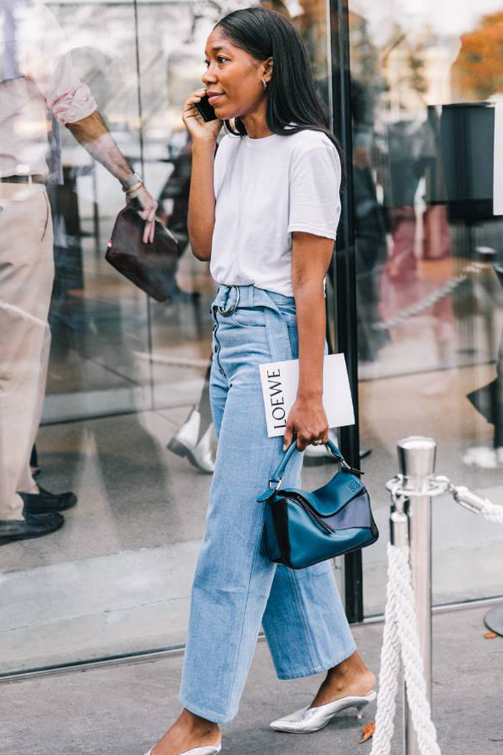 Image of 請收起你那些窄腳牛仔褲,2018年是闊腳牛仔褲的世界