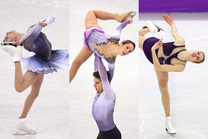 平昌冬奧也有時裝騷?一眾溜冰選手齊齊趕上 2018 大熱紫色潮流
