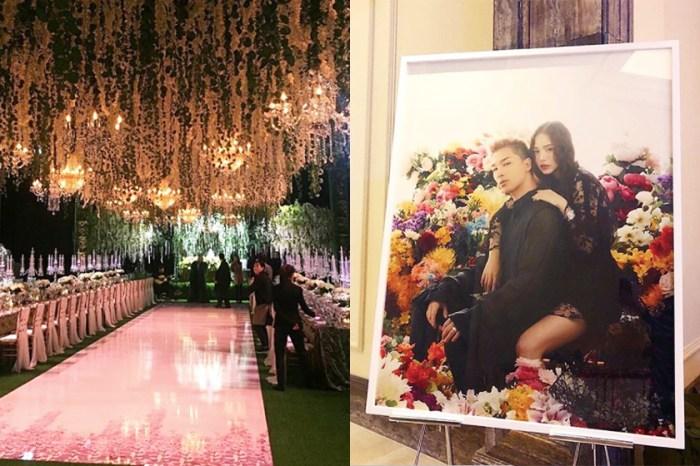 跟初戀結婚是最浪漫的事:太陽、閔孝琳婚宴現場絕密照曝光,佈置真的超夢幻!