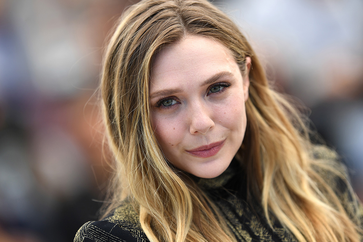 Elizabeth Olsen 批評雜誌對她的臉 PS 過度 這看起來像我嗎