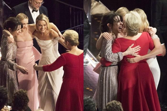 奧斯卡舞台下最美的一幕!沒得獎沒關係,我們知道彼此是最棒的就夠了
