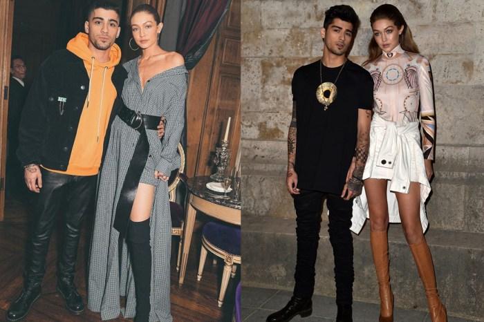 就算愛情已經成為過去,Gigi Hadid 與 Zayn 卻留下了一系列的最佳情侶穿搭照