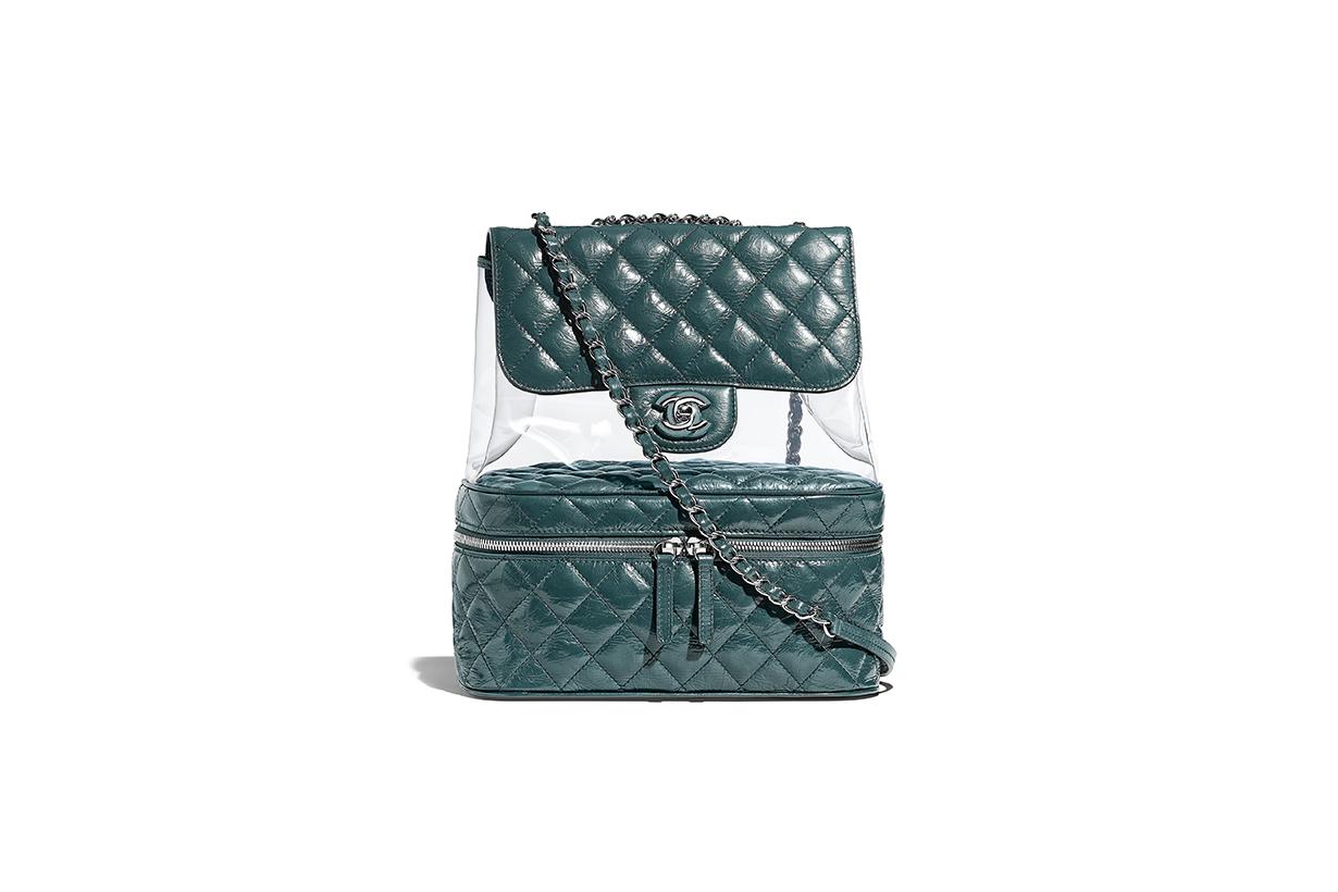 入手目標鎖定 時尚博主們都在用的 Chanel 2018 春夏季的 PVC 手袋