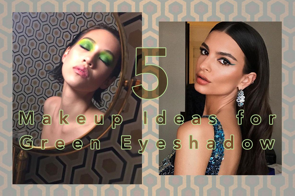 Image of 下一個彩妝大勢是它!和水原希子、Emily Ratajkowski 學習 5 個「綠色眼影」提案!