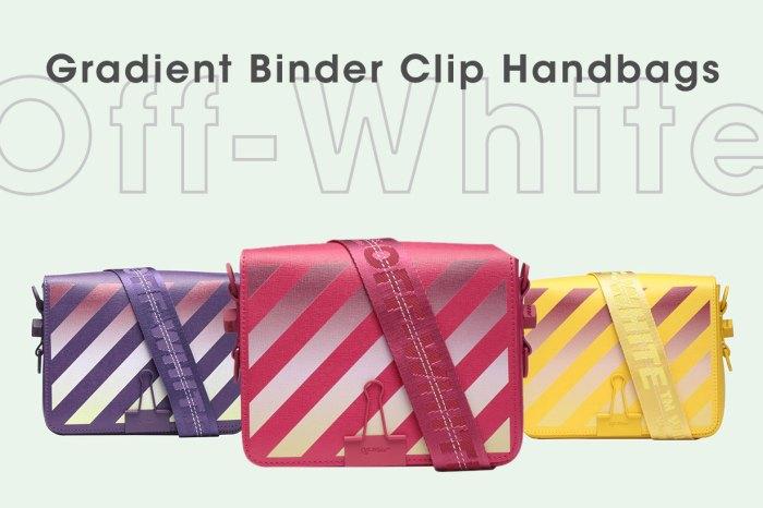 引起熱烈迴響的手袋,Off-White Binder Clip「變色」款絕對讓女生們心動不已!