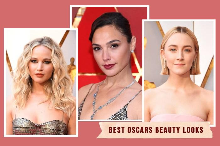 #奧斯卡2018:率先示範新一季的流行春妝!看看紅地氈上的女星如何用妝髮突圍而出!