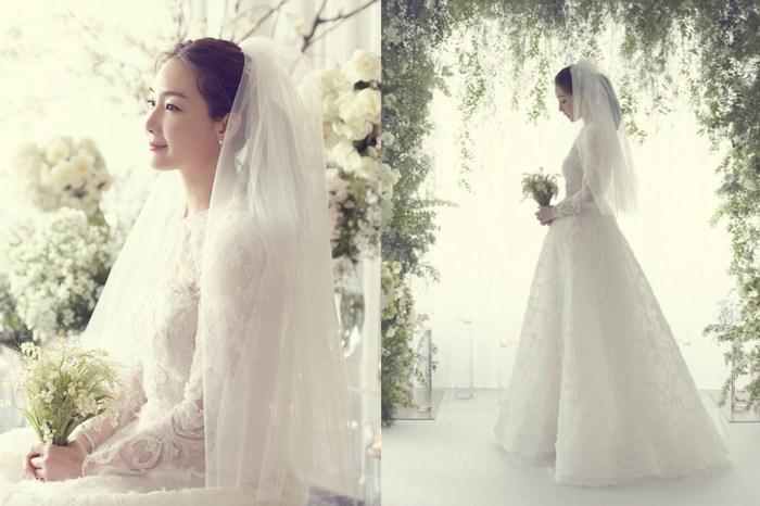 崔智友閃婚!絕美婚紗照首度曝光,牽手老公深情對望:「我們會幸福下去。」