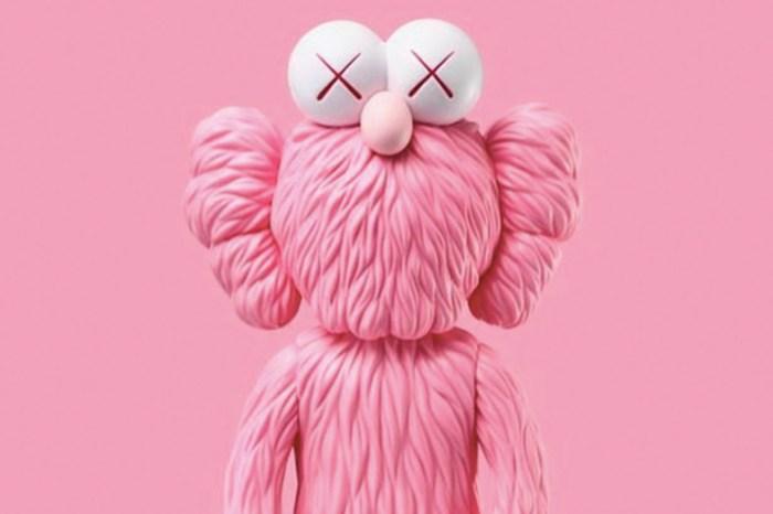 KAWS 粉紅色版本「販售地點、日期」曝光!女孩們怎能抵擋的住?