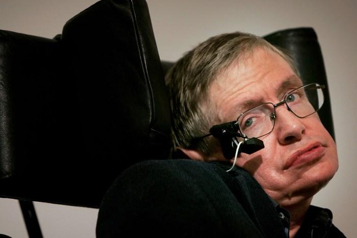 快訊!天才物理學家 Stephen Hawking 過世,享年 76 歲