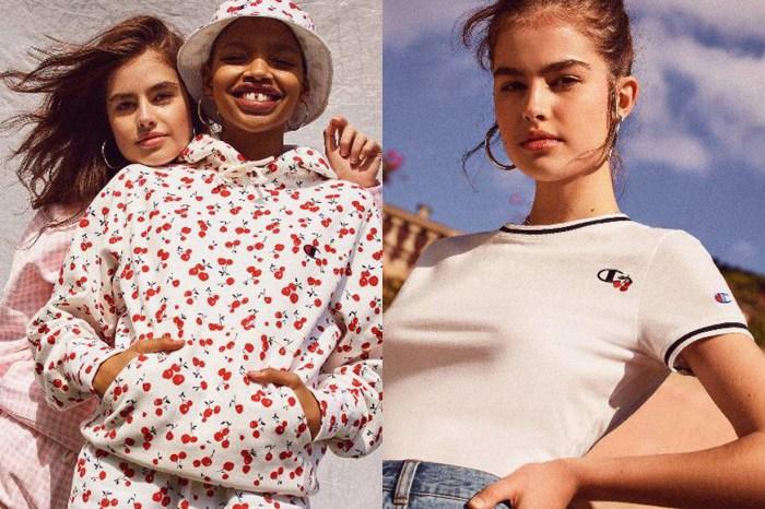 Selena Gomez 最愛的復古裙品牌和 Champion 聯名,讓街頭風格也能很甜美!